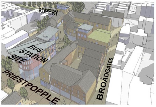 A Vision for Hexham: One idea generated by students.