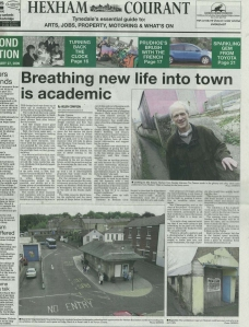 Hexham Courant Article February 2009