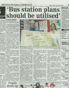 Hexham Courant Article March 2009