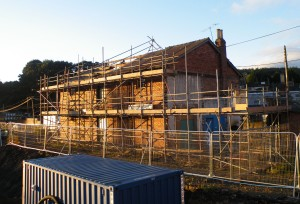 Hexham Stables being dismantled, September 2013
