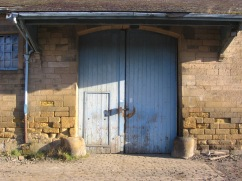 Prosser Goods Shed Doors