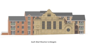 Proposed Gilesgate Elevation Image C Planning Bureau Ltd