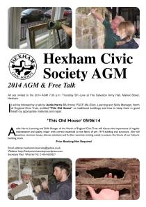 AGM Poster 5th June 2014.qxd