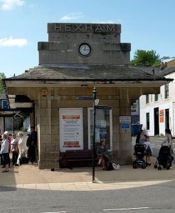 Hexham Bus Station. Image Copyright A Rowe