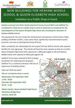 Hexham Consultation Flyer FINAL